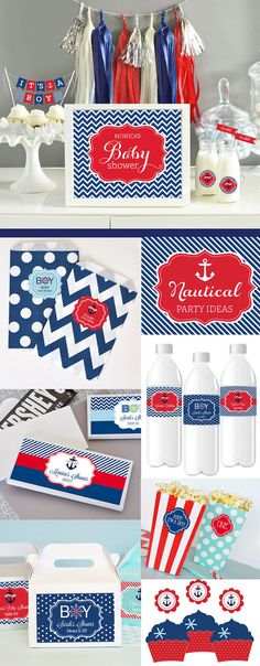 nautical baby shower decorations ideas nautical theme baby by