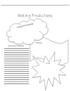 Prediction organizer for making predictions about a book.