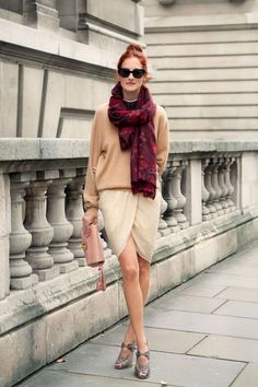Fashion Editors Share Their 15 Styling Secrets: Scarves
