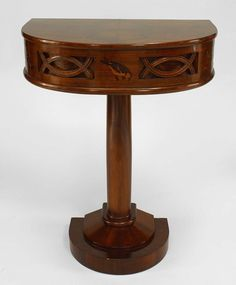 Art Deco Continental table console table rosewood