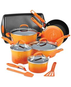 Rachael Ray 14-Piece Nonstick Cookware Set - Sale & Clearance - Kitchen - Macy's
