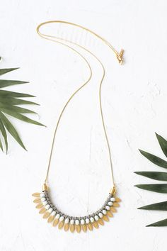 Amazonas Long Necklace Shlomit Ofir Jewelry Design