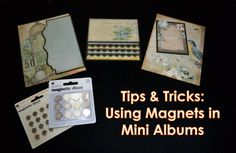 Thank you so much to Martie Rollin for requesting this video! I explain a few different ways I use Basic Grey Magnets in my mini albums. Using magnets in min...