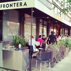 Frontera Grill  Chicago -- A Rick Bayless place -- excellent mexican!