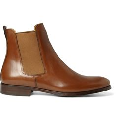 Leather chelsea boots. By A.P.C. via Mr Porter.