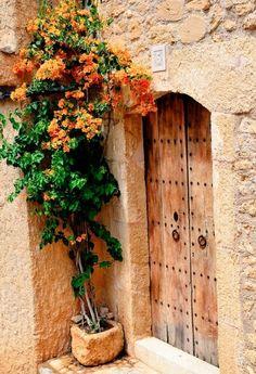 Bougainvillea, Home Deco, Welcome Signs Front Door, Porch Entry, Gallery Frames, Exotic Plants, Diy Garden Decor, Summer Garden, Home Look