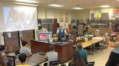 Chef Laurita teaches Buffalo Grove High School to cook on time. #prostart