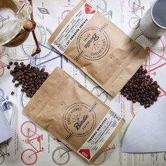 coffee packaging - kraft