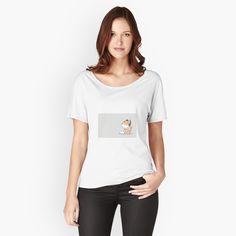 'Megumin Konosuba ' Relaxed Fit T-Shirt by PawOwe T Shirt Fun, My T Shirt, V Neck T Shirt, Graphic T Shirts, Graphic Art, Graphic Design, T Shirt Designs, Loose Fit, Elite 3