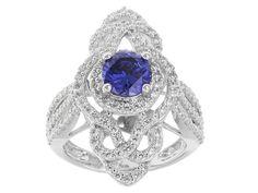 Johanna Bagley For Bella Luce (R) 3.80ctw Tanzanite and White Diamond