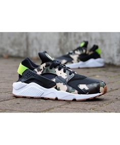 first rate ab515 da0c8 Nike Air Huarache Custom Black Camo Trainer Very bouncing, very breathable,  do not feel