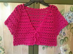 Ravelry: Project Gallery for Lotus Bolero pattern by Doris Chan