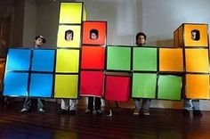 Tetris - group halloween costume ideas