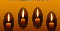 """Τα τέσσερα κεριά έλιωναν αργά-αργά… Ο χώρος ήταν τόσο ήσυχος που μπορούσε να ακουστεί η συζήτηση τους. Το πρώτο έλεγε: """"Εγώ είμαι η ΕΙΡΗΝΗ μα οι άνθρωποι δ Candle Sconces, Wall Lights, Candles, Beautiful, Faith, Home Decor, Prayers, Quotes, Homemade Home Decor"""