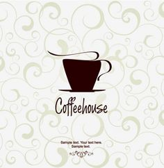 Classy Coffeehouse Vector Background - http://www.dawnbrushes.com/classy-coffeehouse-vector-background/