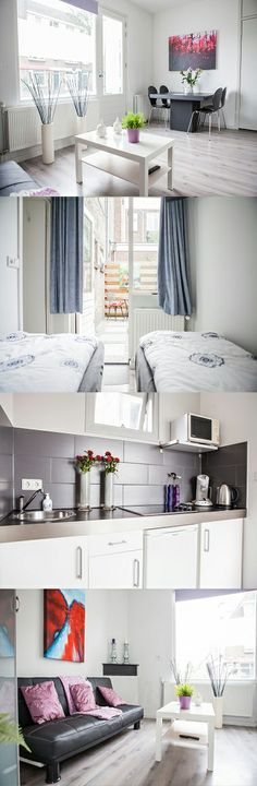 The Utrecht Apartments are located in a residential area in the suburbs of Utrecht. The city centre is easily reached by car or public transport in around 15 minutes. There is also a good selection of bars and restaurants close by, many of which are situated on the banks of the local canals. Here are Utrecht Apartments, Bleekstraat, Utrecht
