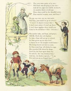 This volume contains the following: Struwelpeter, Good-for-nothing Boys and Girls, Troublesome Children, King Nutcracker and Poor Reinhold. The stories are illustrated in color and are all humorous or amusing despite their admonitory bent.