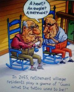 Something to make you. SMILE. ..Senior Citizen Humor...lol