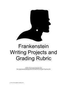 Frankenstein: Literature: ELA (test; essay questions