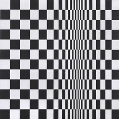 After seven decades, Op art doyenne Bridget Riley proves to be as perception-shifting as ever in the largest and most comprehensive retrospective of her work to date, staged by the Hayward Gallery in London Georges Seurat, Victor Vasarely, Moma, Bridget Riley Op Art, Edinburgh, Ivan Serpa, Hayward Gallery, Galleries In London, Royal College Of Art