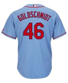 dc82c976d Majestic Men s Paul Goldschmidt St. Louis Cardinals Player Replica Cool  Base Jersey - Blue M