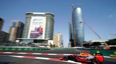 Max Verstappen (NED) Red Bull Racing RB12 at Formula One World Championship, Rd8, European Grand Prix, Qualifying, Baku City Circuit, Baku, Azerbaijan, Saturday 18 June 2016. © Sutton Images
