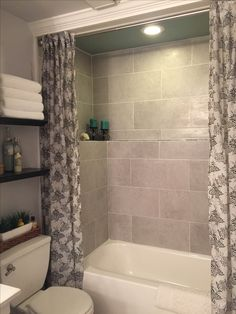 Large tile tub surround