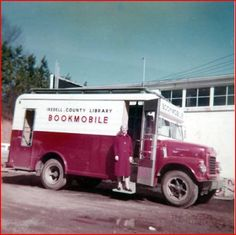 Iredell County Library Moroney bookmobile, February 1962 ^cs