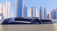 Sunreef Unveils Floating Restaurant & Water Hotel Concepts in Dubai & London