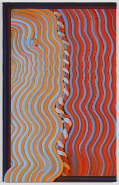Sascha Braunig Rolling Shutter 2, 2013 oil on canvas over panel 76,2 × 48,26 cm (30 × 19 inches)