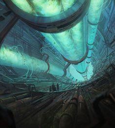 #Cyberpunk #Futuristic, Sci-Fi