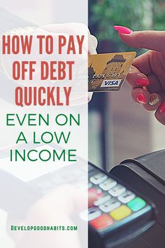 If you have a low income and struggle to get by, debt can easily build - making it even more difficult to get out from under the mountain of loans. But even with a low income paying off debt is a possibility if you are willing to live frugally and take proactive steps for money management . Check out 20 ideas that will help to pay off debt- even with minimal income. Ways To Save Money, Money Tips, Money Saving Tips, Debt Payoff, Debt Repayment, Financial Tips, Financial Planning, Managing Your Money, Early Retirement