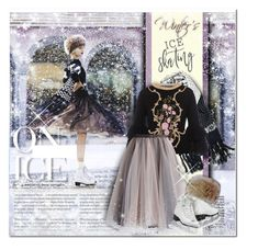 """""""Winter Season 2018/ * On Ice*"""" by mrswomen ❤ liked on Polyvore featuring Alberta Ferretti and Chicwish"""