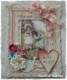 Flowery n bowy card, cute n girlish ^^