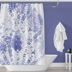 Explore Metro Shower Curtains' exclusive collection of unique and designer shower curtains. PVC and plastic free, mold-resistant fabric designs created by artists to transform your bathroom decor in minutes. Flower Shower Curtain, Striped Shower Curtains, Fabric Shower Curtains, Boho Curtains, Boho Bathroom, White Bathroom, White Shower, Bathroom Art, Bathroom Ideas
