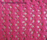 lace knitting stitches free Net Lace & other lace & eyelet patterns