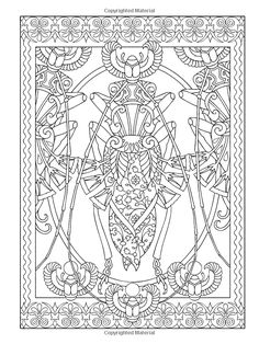 Creative Haven Incredible Insect Designs Coloring Book Creative