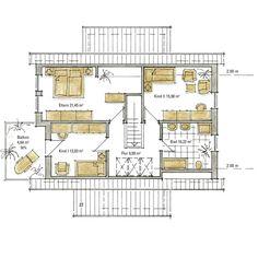 doppelhaush lfte eg gerade treppe grundrisse pinterest. Black Bedroom Furniture Sets. Home Design Ideas
