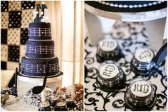 Not-your-traditional white wedding cake for the rockstar couple || Really Awesome Weddings » Crosswinds Resort Suites, Chapel on the Hill, Tagaytay Wedding / Ren and Glee