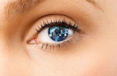 Wear a really cool contact lense