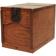 Japanese Merchant's Chest (Zenibako) With a Secret Compartment | From a unique collection of antique and modern boxes at http://www.1stdibs.com/furniture/more-furniture-collectibles/boxes/