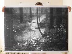 Woods Poster. Debbiecarlos on Etsy.