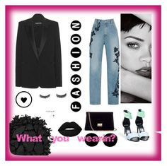 """""""What u wearin?"""" by onmyunicorn4evs ❤ liked on Polyvore featuring Jonathan Simkhai, Pierre Hardy, Tom Ford, Urban Decay, Miu Miu and Rodo"""