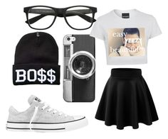 The Saleen Look by anaise-pagan on Polyvore featuring polyvore, fashion, style, Converse and Casetify