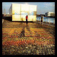 Dublin docks are great for photos