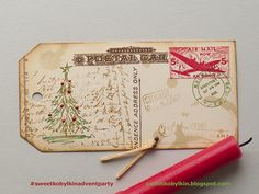 Scribbly Christmas by Tim Holtz
