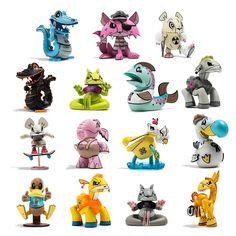 Outsiders Mini Series by Joe Ledbetter x Kidrobot | The Toy Chronicle
