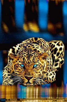 48213410 Diamond Painting - Full Round - Leaopard in 2020 Lion Live Wallpaper, Jaguar Wallpaper, Wild Animal Wallpaper, Tier Wallpaper, Wallpaper Ideas, Big Cats Art, Cat Art, Beautiful Cats, Animals Beautiful