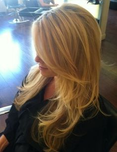 Gorgeous layers...this could be my hair