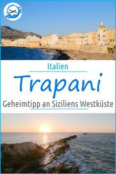 Trapani an Siziliens Westküste gehört zu den Geheimtipps auf der italienischen Insel. Bei unserem Besuch auf unserer Sizilien Rundreise entdeckten wir die Stadt mit der arabischen Geschichte und verliebten uns sofort. #ReisenmitKindern #ReisenmitKind #Sizilien #SizilienRundreise #Italien #ItalienischeInsel #Trapani #SizilienWestküste